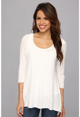Miraclebody Jeans Bella Hi-Lo Tunic w/ Body-Shaping Inner Shell