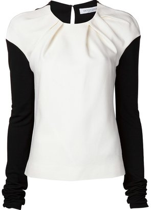 Viktor & Rolf exaggerated sleeve top