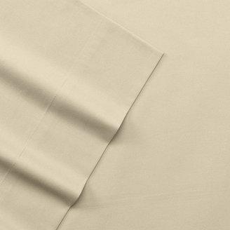 Apt. 9 solid 220-thread count flat sheet - cal. king