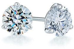 Kwiat Women's 0.75Ct Tw Diamond & Platinum Stud Earrings