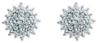 Sterling Choice of Gemstone Post Earrings