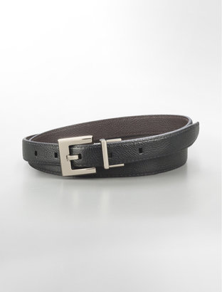 Calvin Klein Reversible Skinny Leather Belt