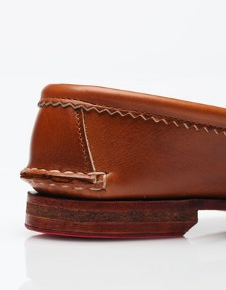 Quoddy True Penny Loafer in Whiskey