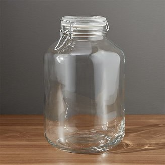 Crate & Barrel Fido 5-Liter Jar with Clamp Lid