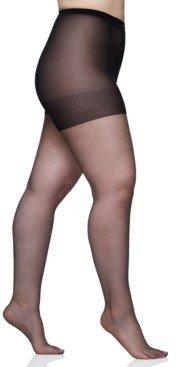 Berkshire Women's Queen Plus Size Ultra Sheer Sandalfoot Pantyhose 4413