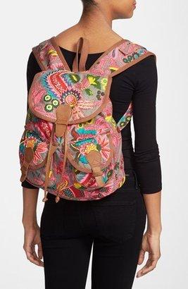 Steve Madden Steven by Beaded Canvas Backpack