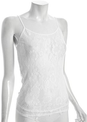 Natori Underneath white lace 'Dragon Flower' cami