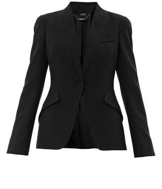 Alexander McQueen Tailored crepe jacket