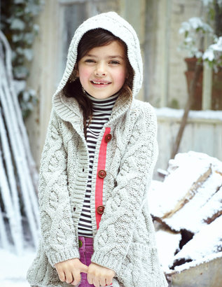 Boden Long Hooded Cardigan