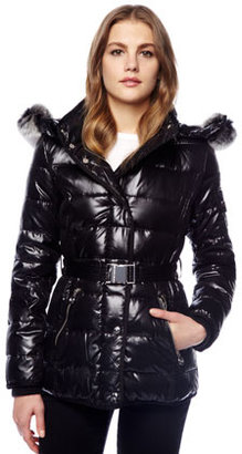 MICHAEL Michael Kors Fur-Lined Puffer Coat