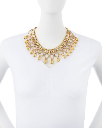 Fragments for Neiman Marcus Rhinestone Snake-Chain Necklace
