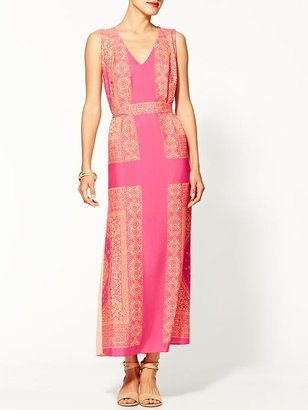 Collective Concepts Printed Maxi Dress