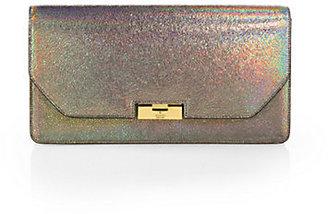 Gucci 58 Crackled Metallic Leather Clutch