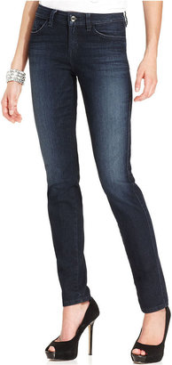 GUESS Jeans, Skinny Dark-Wash Lace