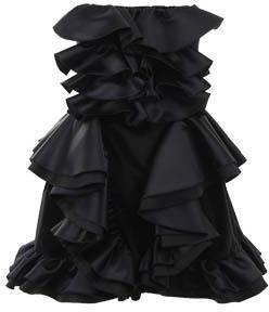 D&G Strapless ruffle dress
