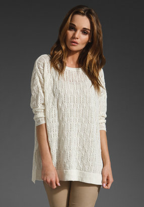 Joie Maybella Cable Knit Sweater