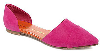 Chinese Laundry Easy Does It Suede d'Orsay Flats
