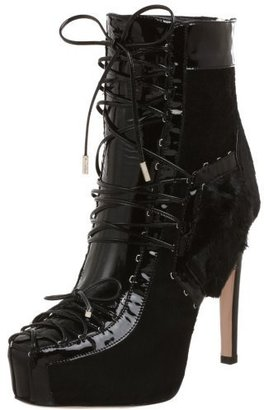 Alessandro Dell'Acqua Women's AA7820 Lace-Up Ankle Bootie