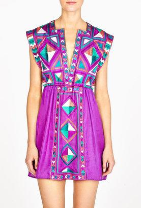 Karma Mauritius Embroidered Dress