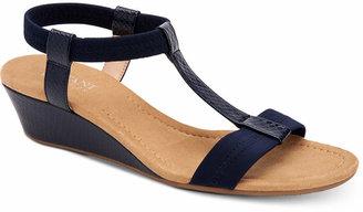 691d16096 Alfani Women Step 'N Flex Voyage Wedge Sandals, Women Shoes