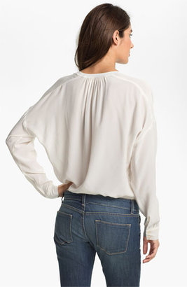Vince Camuto Two by Split Neck Tunic Blouse