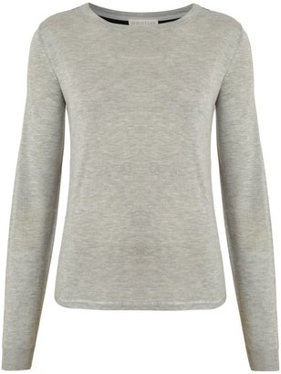 Whistles Women's Constance fabric panel sweater