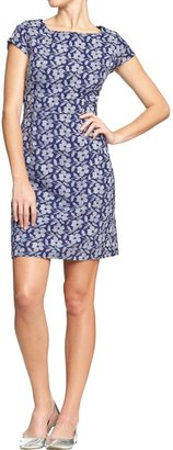 Old Navy Women's Embroidered Floral Shift Dresses