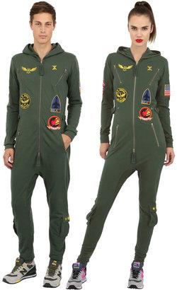 Aviator Cotton Jumpsuit $271 thestylecure.com