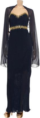 Mikael Aghal Chiffon maxi dress
