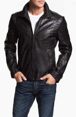 7 Diamonds Buffalo Leather Jacket
