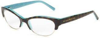 Kate Spade Women's Aleta Oval Reading Glasses,Tortoise