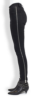Saint Laurent Zipper-Detail Jeans