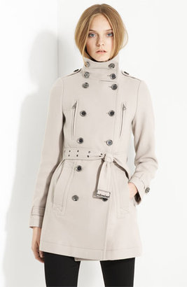 Burberry 'Charcottley' Double Breasted Coat