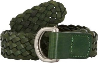 Barneys New York Woven Leather Belt