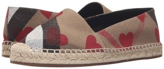 Burberry - Hodgeson Women's Slip on Shoes $295 thestylecure.com