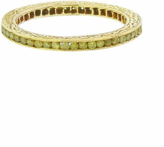 Couture Sethi Channel Set Yellow Diamond Ring - Yellow Gold