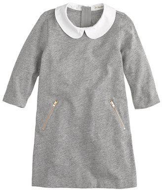 J.Crew Girls' Peter Pan collar dress