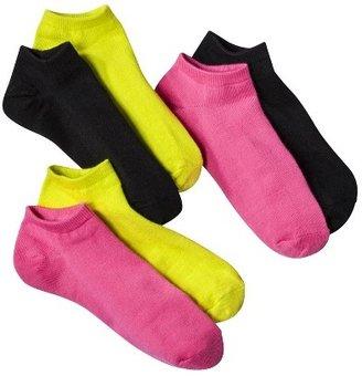 Xhilaration Women's Single Low Cut Mix and Match Socks 6-Pack