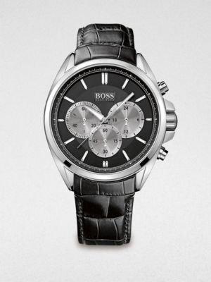 HUGO BOSS Stainless Steel Driver Watch