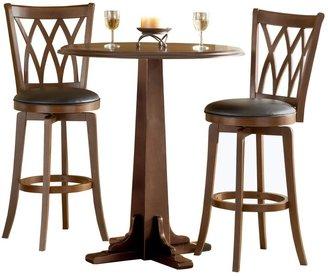 Hillsdale Furniture Mansfield 3-pc. Pub Table Set