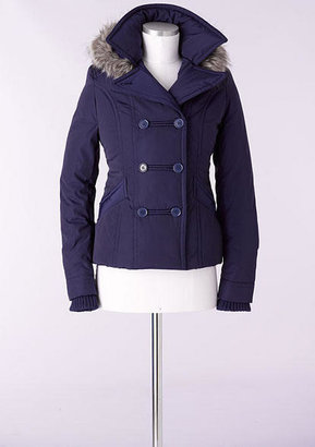 Delia's Poly Double-breasted Coat