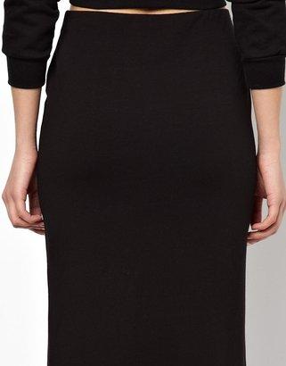Asos Exclusive Double Split Maxi Skirt