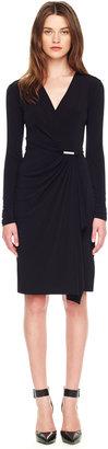 Michael Kors Jersey Wrap Dress