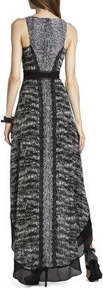 BCBGMAXAZRIA Sienna Sleeveless High-Low Dress