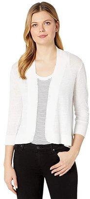 Tommy Bahama Lea Open Cardigan (White 1) Women's Sweater