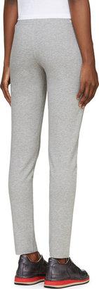 Moncler Gray Cotton Lounge Pants