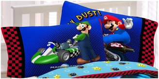 Nintendo Super Mario The Race Is On Pillowcase