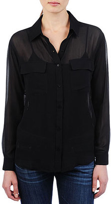 AG Jeans The Button Up Tunic - Black