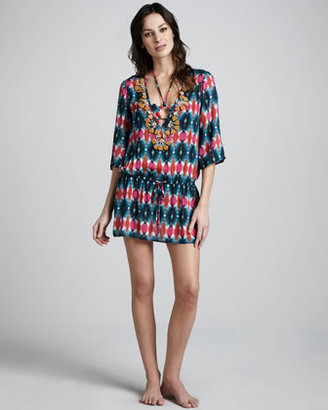 Milly Artola Tie-Dye Coverup