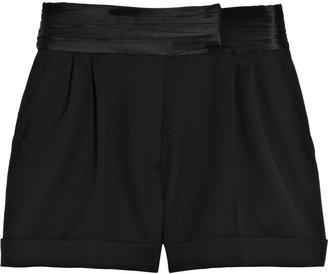 Valentino Wool tuxedo shorts